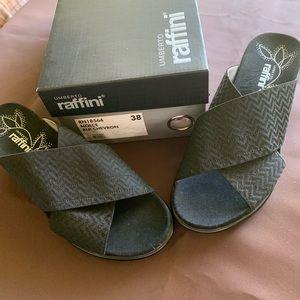 UMBERTO raffini wedge sandals